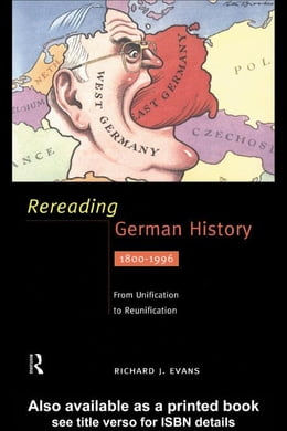 Book Rereading German History by Evans, Richard J.