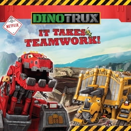 Book Dinotrux: It Takes Teamwork! by Margaret Green