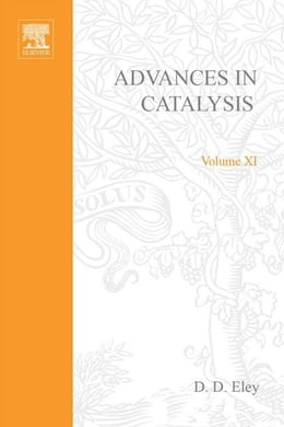 Book Advances in Catalysis by Selwood, P. W.
