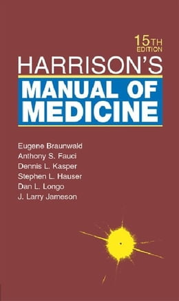 Book Harrison's Manual of Medicine by Braunwald, Eugene