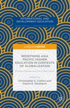 Redefining Asia Pacific Higher Education in Contexts of Globalization: Private Markets and the…