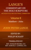 Langes Commentary on the Holy Scripture, Volume 6