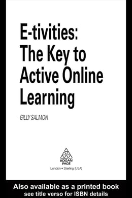 Book E-Tivities: The Key to Active Online Learning by Salmon, Gilly