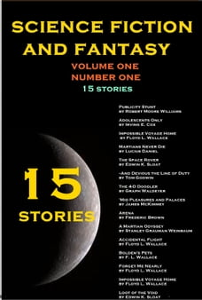 Fantasy and Science Fiction: 15 Stories Volume One Number One