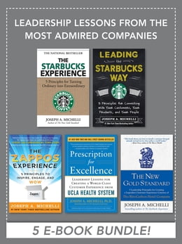 Book Leadership Lessons from the Most Admired Companies by Joseph Michelli