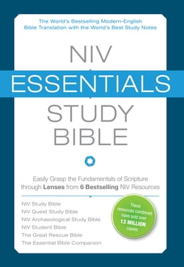 Book NIV, Essentials Study Bible, eBook: Easily Grasp the Fundamentals of Scripture through Lenses from… by Zondervan