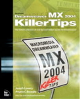 Book Macromedia Dreamweaver MX 2004 Killer Tips by Joseph Lowery