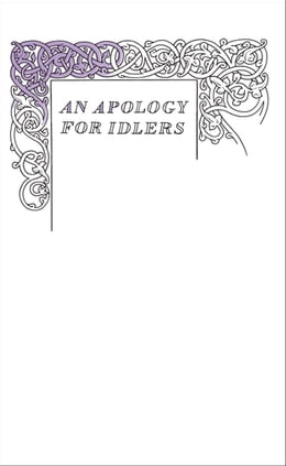Book An Apology for Idlers by Robert Louis Stevenson