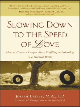Book Slowing Down to the Speed of Love by Bailey, Joseph
