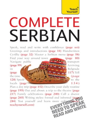 Complete Serbian: Teach Yourself Learn to read, write, speak and understand a new language with Teach Yourself