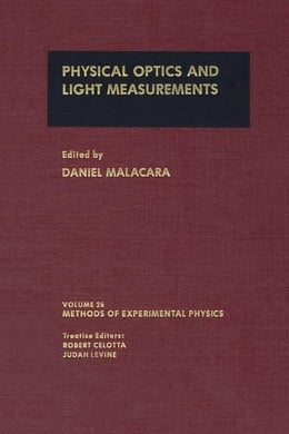 Book Physical Optics and Light Measurements by Malacara, Daniel