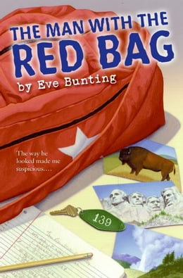 Book The Man with the Red Bag by Eve Bunting