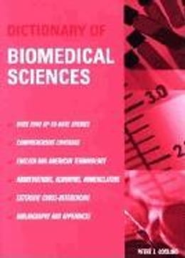 Book Dictionary of Biomedical Science by Gosling, Peter J.