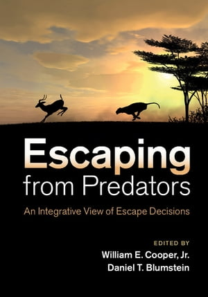Escaping From Predators An Integrative View of Escape Decisions