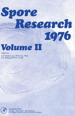 Book Spore Research 1976 V2 by Barker, A.N.
