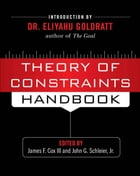 23 - Theory of Constraints Thinking Processes by Victoria Mabin,John Davies