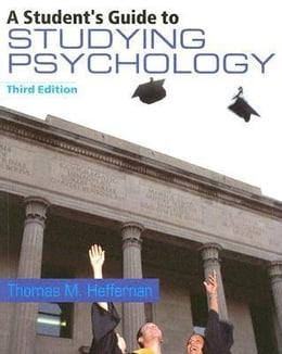 Book A Student's Guide to Studying Psychology by Heffernan, Thomas