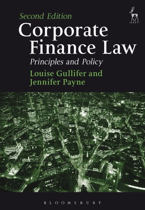 Corporate Finance Law Principles and Policy