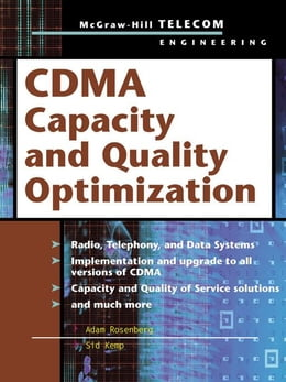 Book CDMA Capacity and Quality Optimization by Rosenberg, Adam
