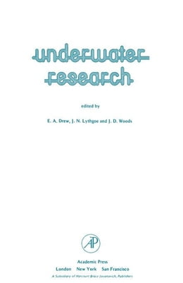 Book Underwater Research by Drew, E.A.