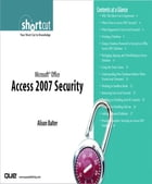 Microsoft Office Access 2007 Security (Digital Short Cut) by Alison Balter