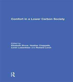 Comfort in a Lower Carbon Society