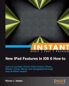 Instant New iPad Features in iOS 6 How-to by Renee J. Valdez