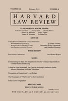Harvard Law Review: Volume 126, Number 4 - February 2013 by Harvard Law Review