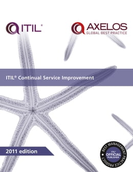 Book ITIL Continual Service Improvement by AXELOS