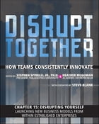 Disrupting Yourself - Launching New Business Models from Within Established Enterprises (Chapter 15 from Disrupt Together) by Stephen Spinelli Jr.