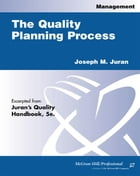 Quality Planning Process