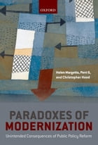 Paradoxes of Modernization: Unintended Consequences of Public Policy Reform by Helen Margetts
