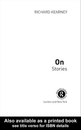 Book On Stories by Kearney, Richard