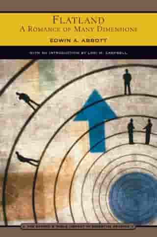 Flatland (Barnes & Noble Library of Essential Reading): A Romance of Many Dimensions by Edwin A. Abbott
