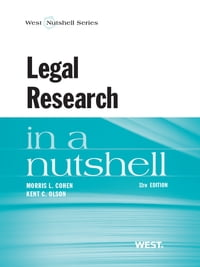 Legal Research in a Nutshell, 11th