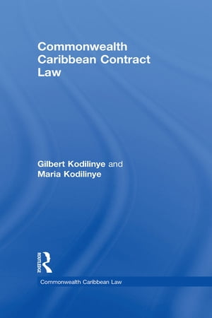 Commonwealth Caribbean Contract Law