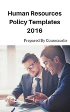 Human Resources Policy Templates by ConnexusHR