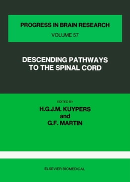 Book Descending Pathways to the Spinal Cord by Kuypers, H.G.J.M.