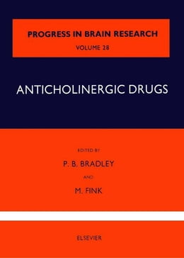 Book Anticholinergic Drugs by Bradley, P. B.