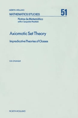Book Axiomatic Set Theory by Chuaqui, R.B.