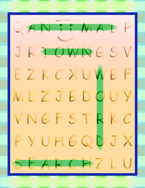 Aniimal Town Word Search (Aniimal Town Learning Series)