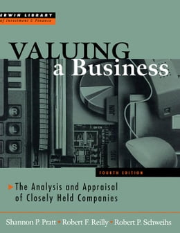 Book Valuing A Business, 4th Edition by Pratt, Shannon P.