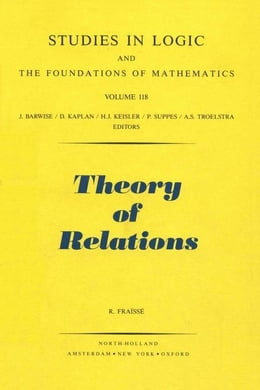 Book Theory of Relations by Fraïssé, R.