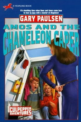 Book AMOS AND THE CHAMELEON CAPER by Gary Paulsen