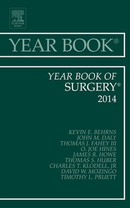 Book Year Book of Surgery 2014, by Kevin E. Behrns