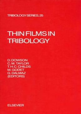 Book Thin Films in Tribology by Dalmaz, G.