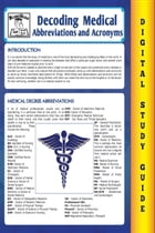 Medical Abbreviations and Acronyms (Blokehead Easy Study Guide) by The Blokehead