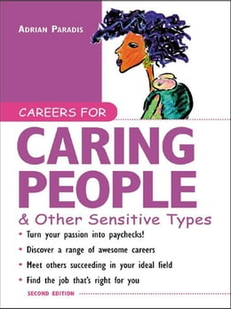 Book Careers for Caring People & Other Sensitive Types by Paradis, Adrian