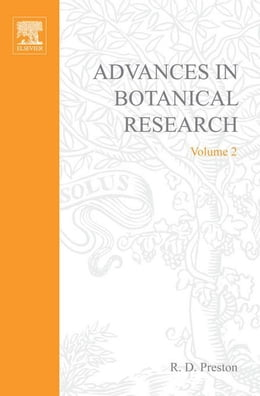Book Advances in Botanical Research by Preston, R. D.