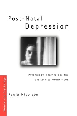 Book Post-Natal Depression by Nicolson, Paula